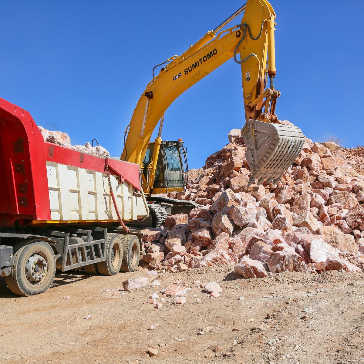 Semi Precious Stone Mining